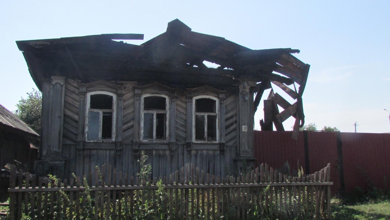 Пожар в поселке Юрино унес жизни двоих мужчин