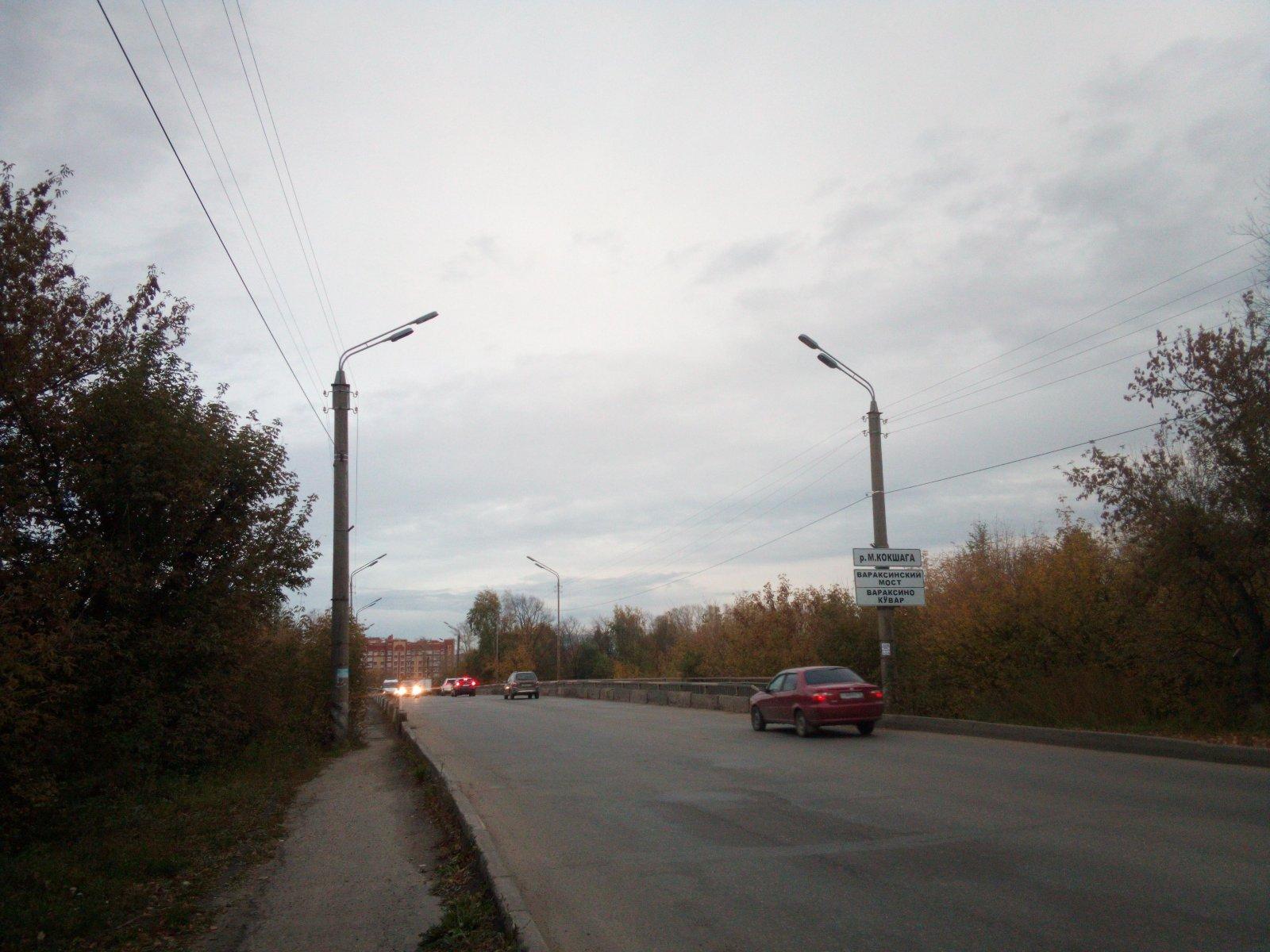 Вараксинский мост Йошкар-Олы на месяц закроют для движения транспорта