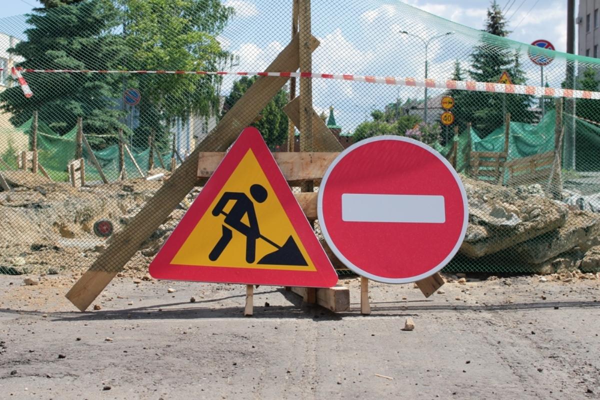 В Йошкар-Оле по улице Панфилова укладывают финальный слой асфальта