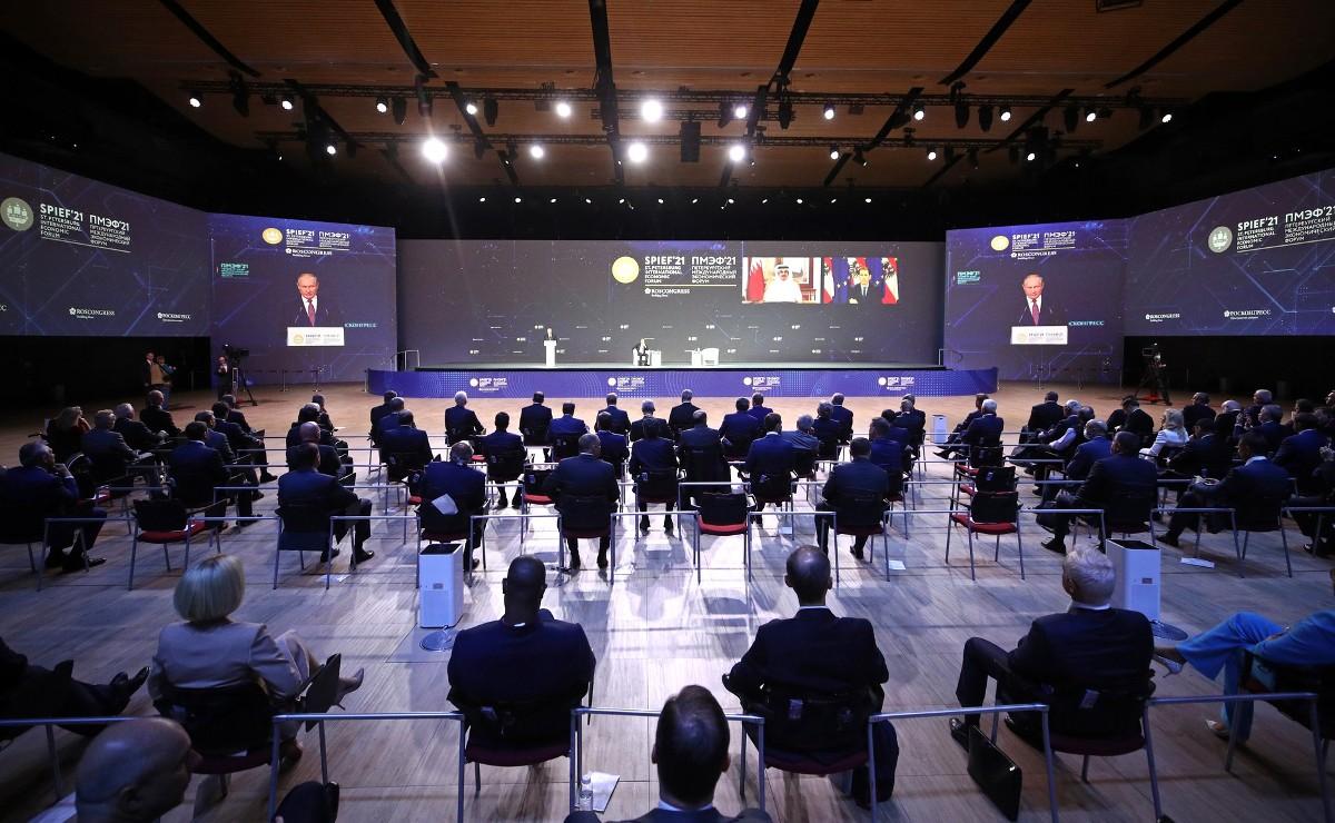 Глава Марий Эл подвел итоги XXIV петербургского международного экономического форума