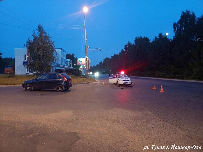 Водитель Volkswagen сбил пенсионерку в центре Йошкар-Олы