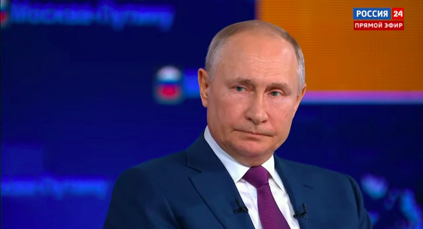 Путин назвал провокацией вторжение британского эсминца в территориальные воды России