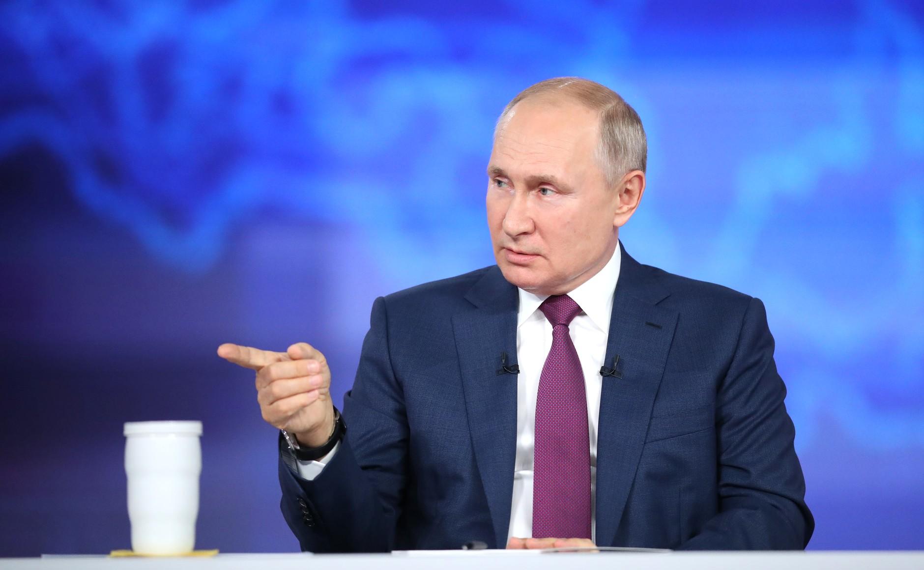 Я задал вопрос Путину и получил на него ответ