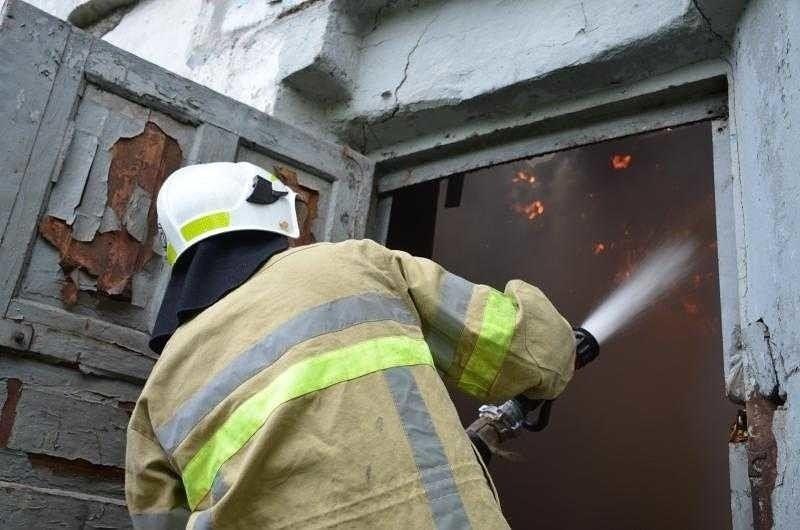 Сегодня в районе Марий Эл произошел пожар в частном хозяйстве