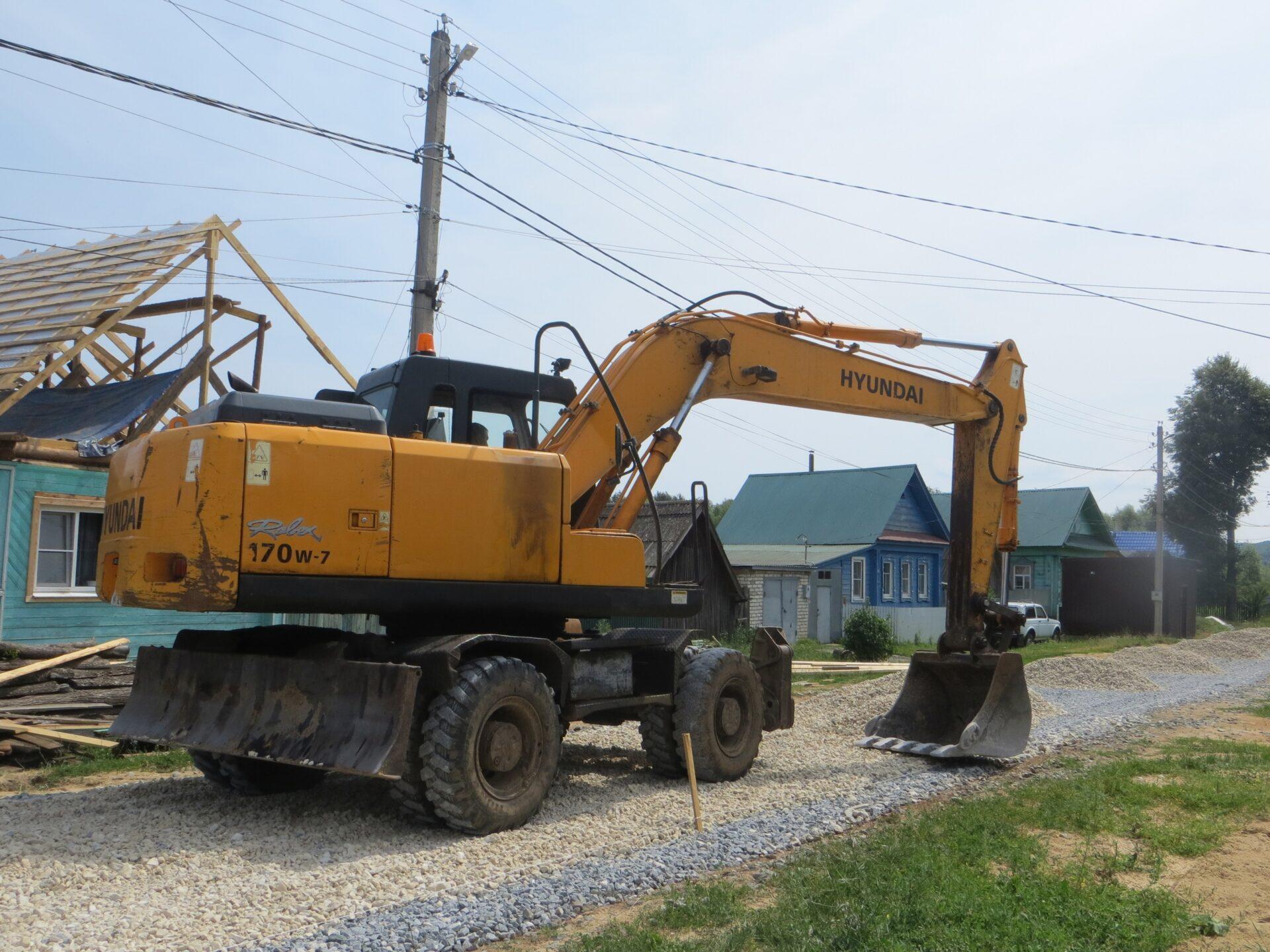В Козьмодемьянске приступили к ремонту улиц Шмидта и Мичурина