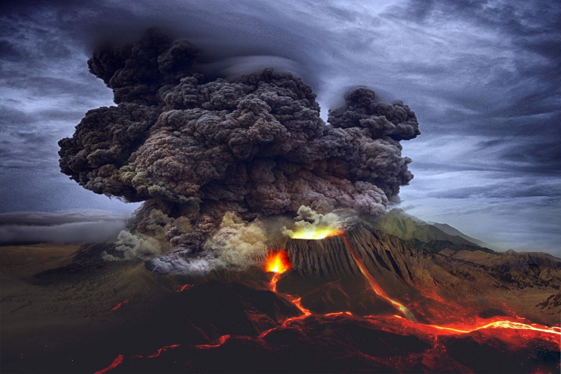Ученые заявили, что нет верного способа предсказать извержение супервулкана