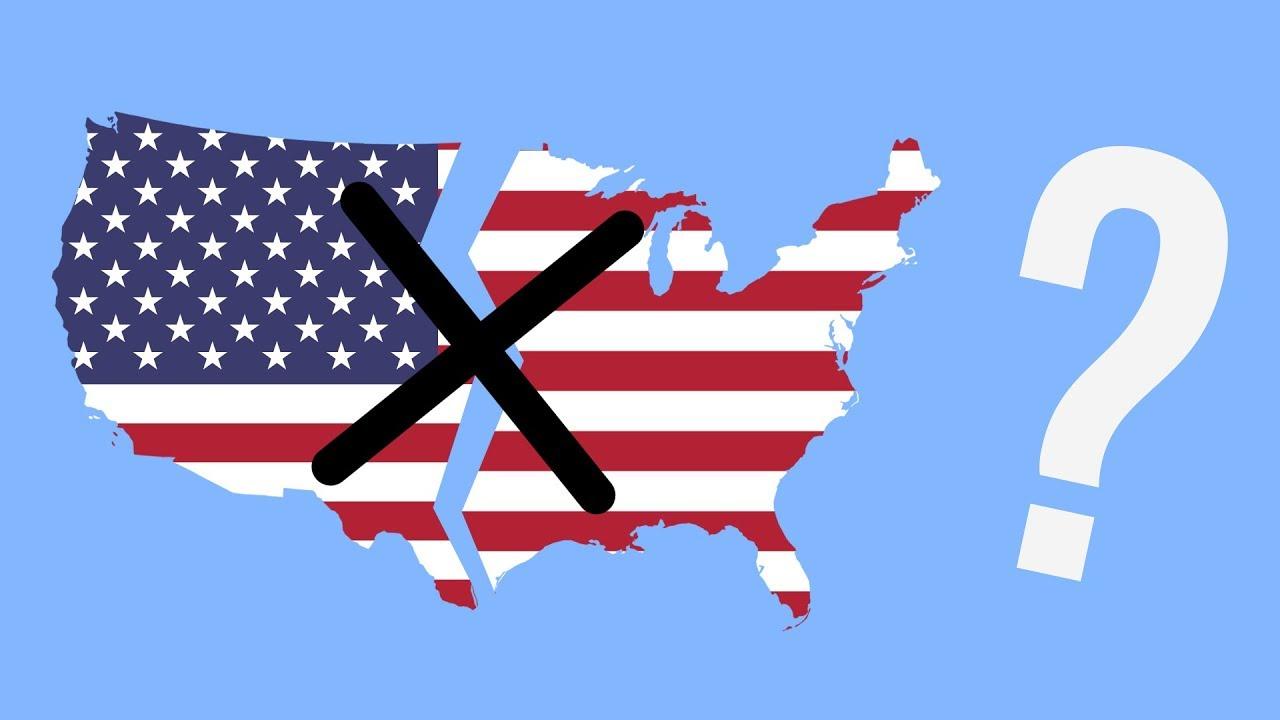 Более половины американцев желают развала США