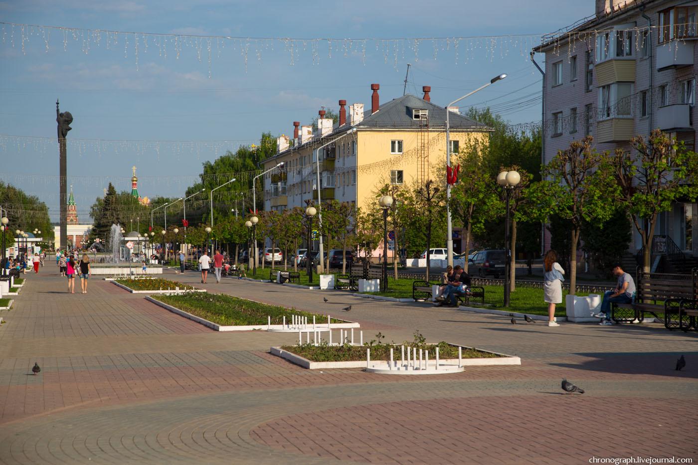 В Йошкар-Оле бульвару Победы исполнилось 15 лет