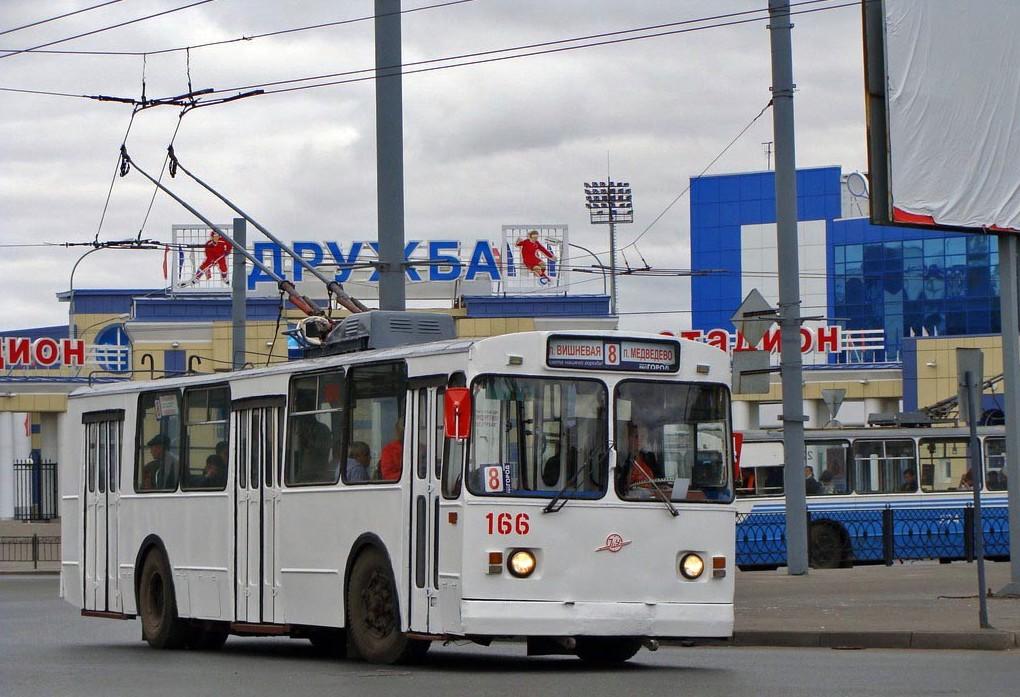 В Йошкар-Оле на два дня изменится схема движения троллейбуса №8