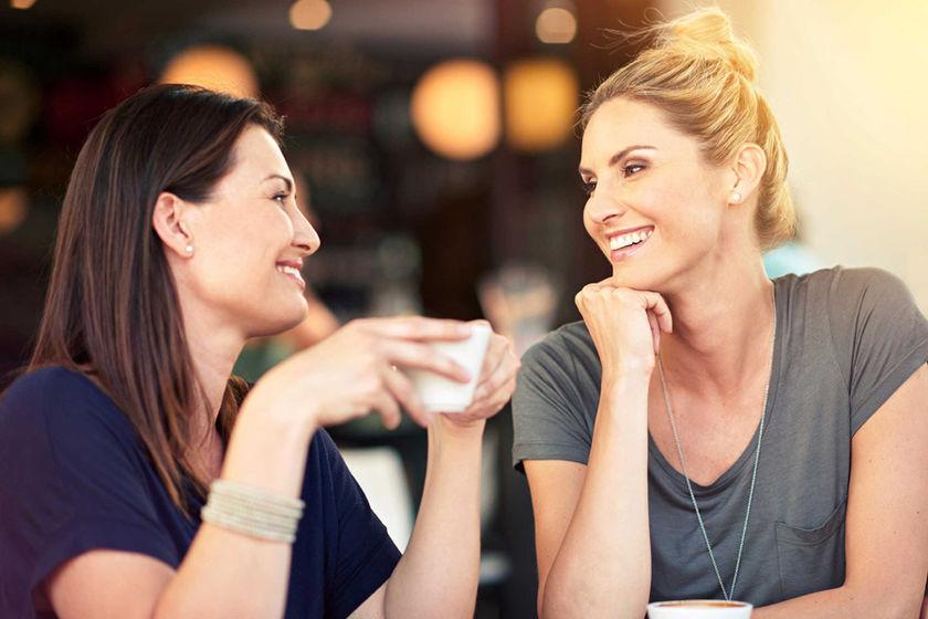При общении с подругами у женщин снижается уровень гормона стресса