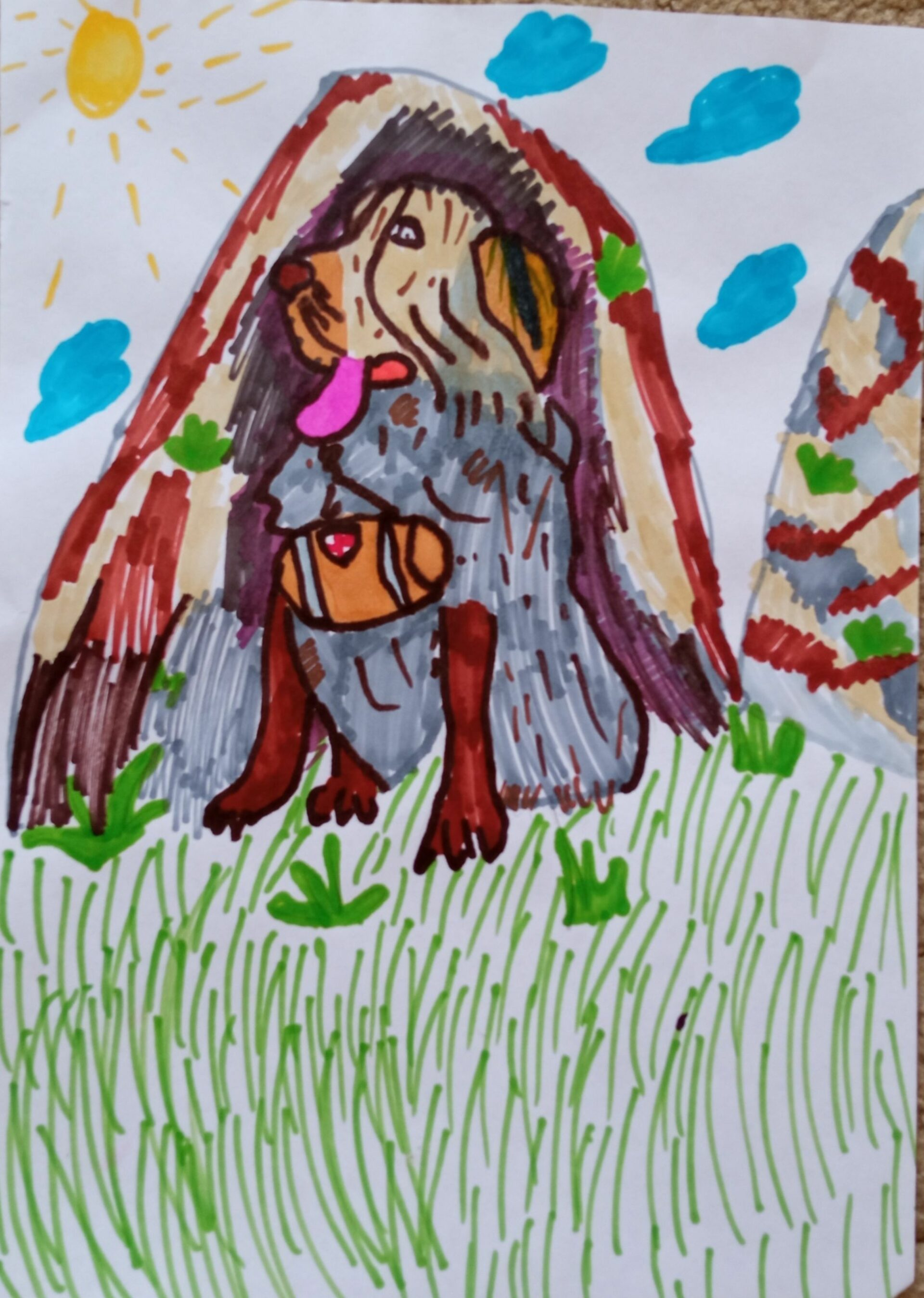 Жители Марий Эл среди самых активных участников конкурса рисунков о фронтовых собаках