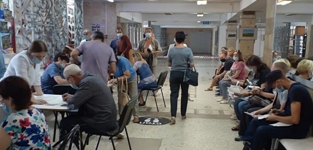 Центр вакцинации от COVID-19 начал работу в ДК им. ХХХ-летия Победы Йошкар-Олы