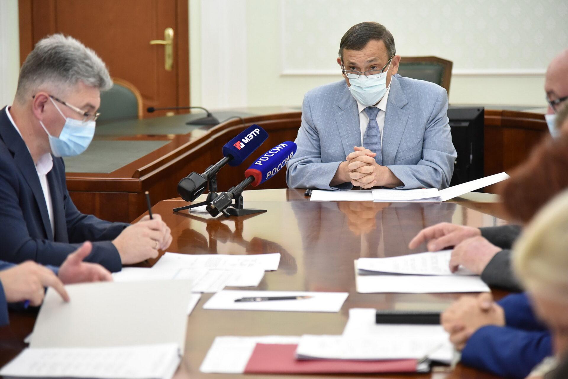 Глава Марий Эл поручил навести порядок с недостроями в Козьмодемьянске