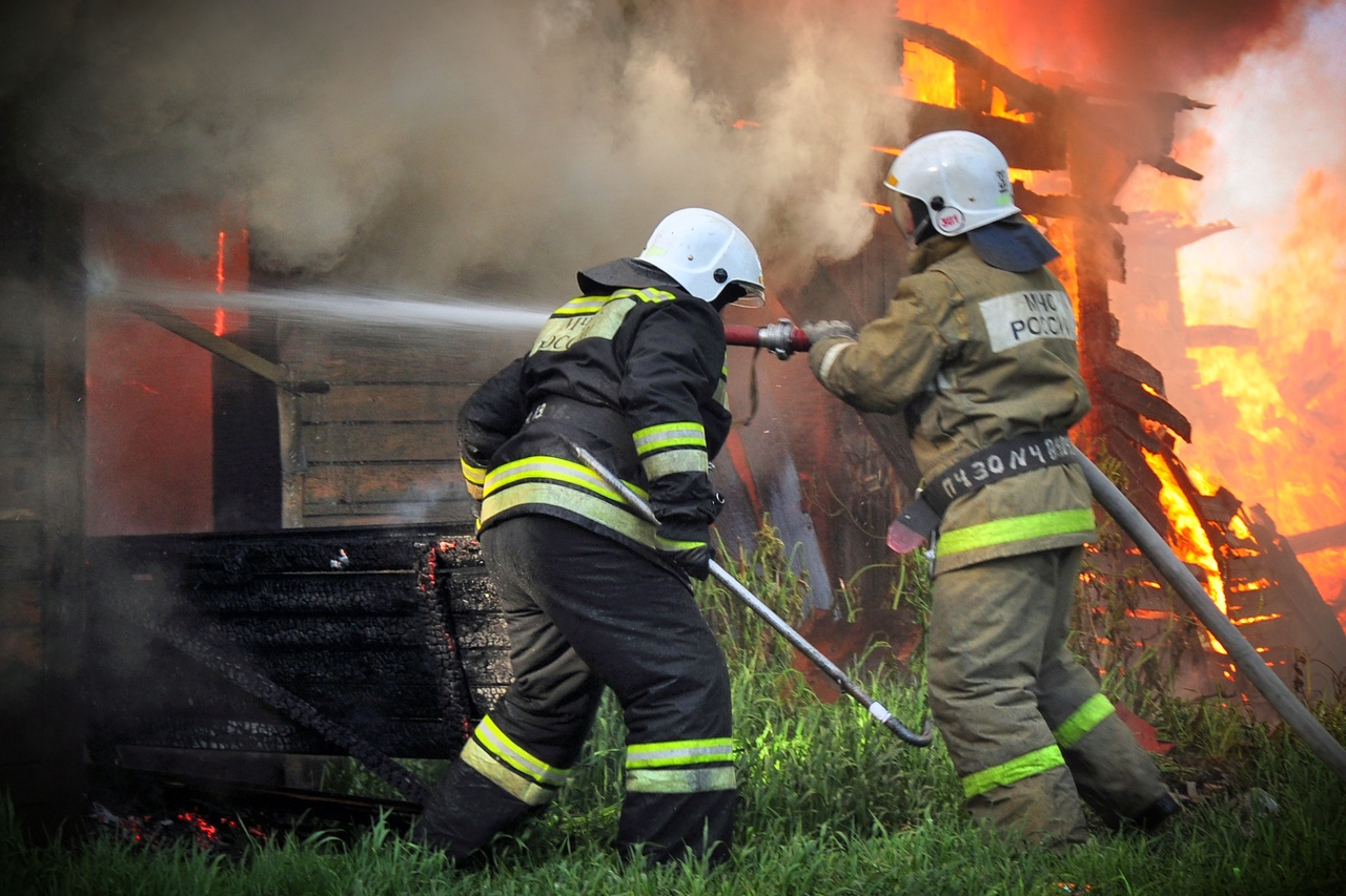 В Марий Эл произошли пожары в двух частных домах