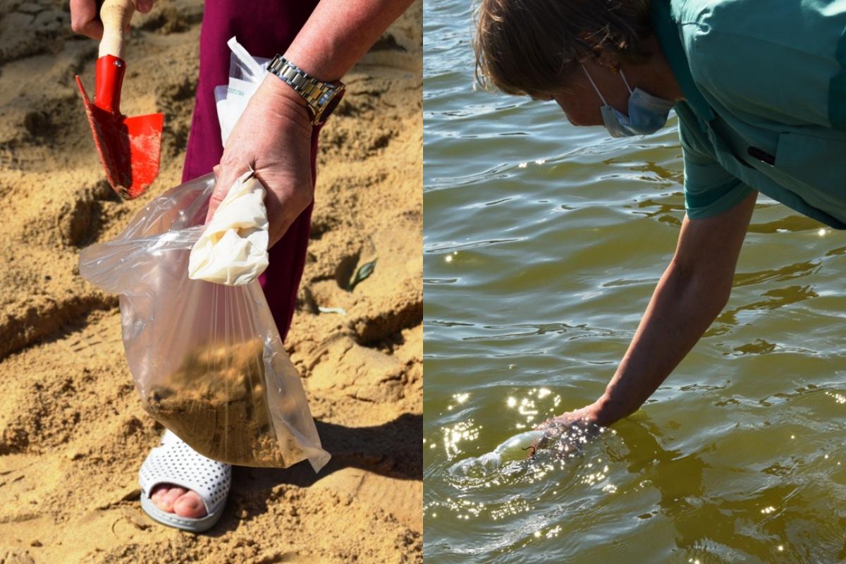 Роспотребнадзор Марий Эл контролирует качество воды и песка в местах для купания