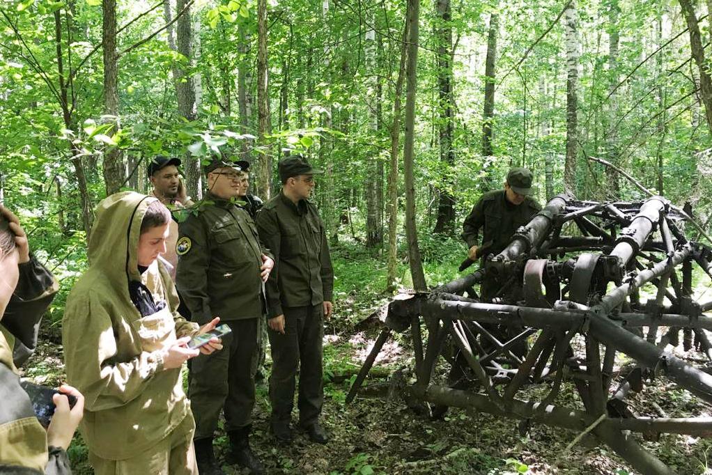 В Марий Эл найден военный самолет, разбившийся в 1941 году