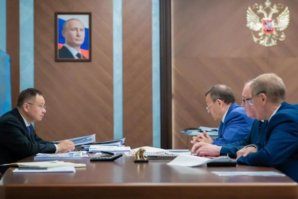 Глава Марий Эл обсудил с руководством Минстроя РФ реконструкцию очистных сооружений