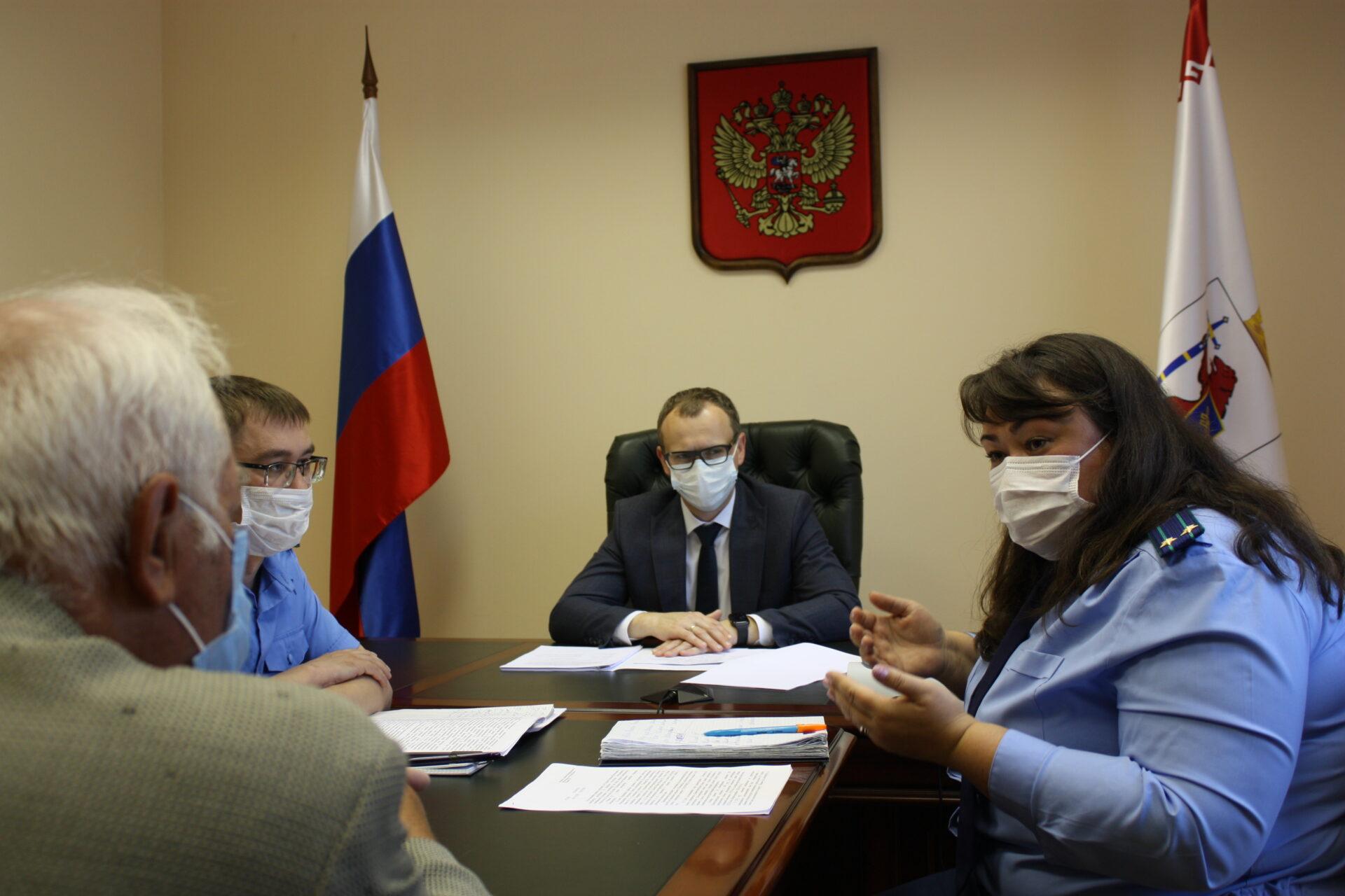 Павел Волков провёл личный прием граждан