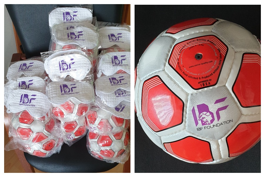 Спортсмены-паралимпийцы из Марий Эл получили мячи и маски для игры в футбол
