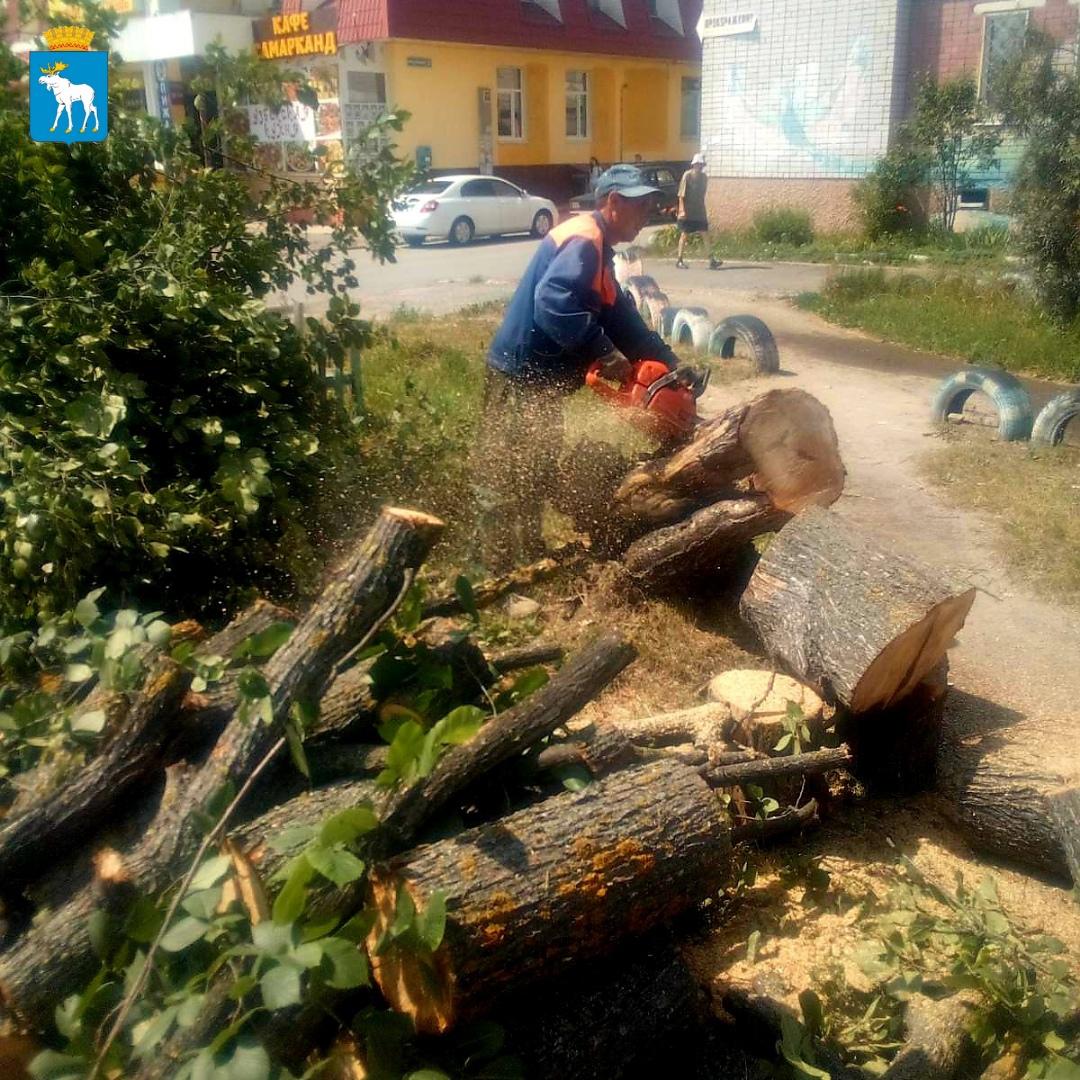 В Йошкар-Оле продолжаются работы по благоустройству