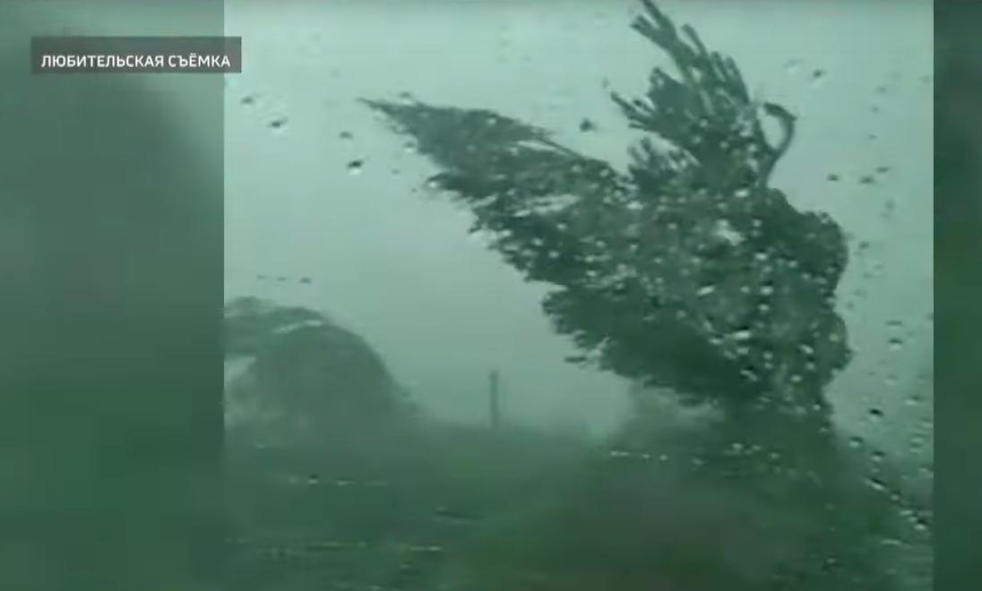 В Звениговском Марий Эл районе прошел ураган