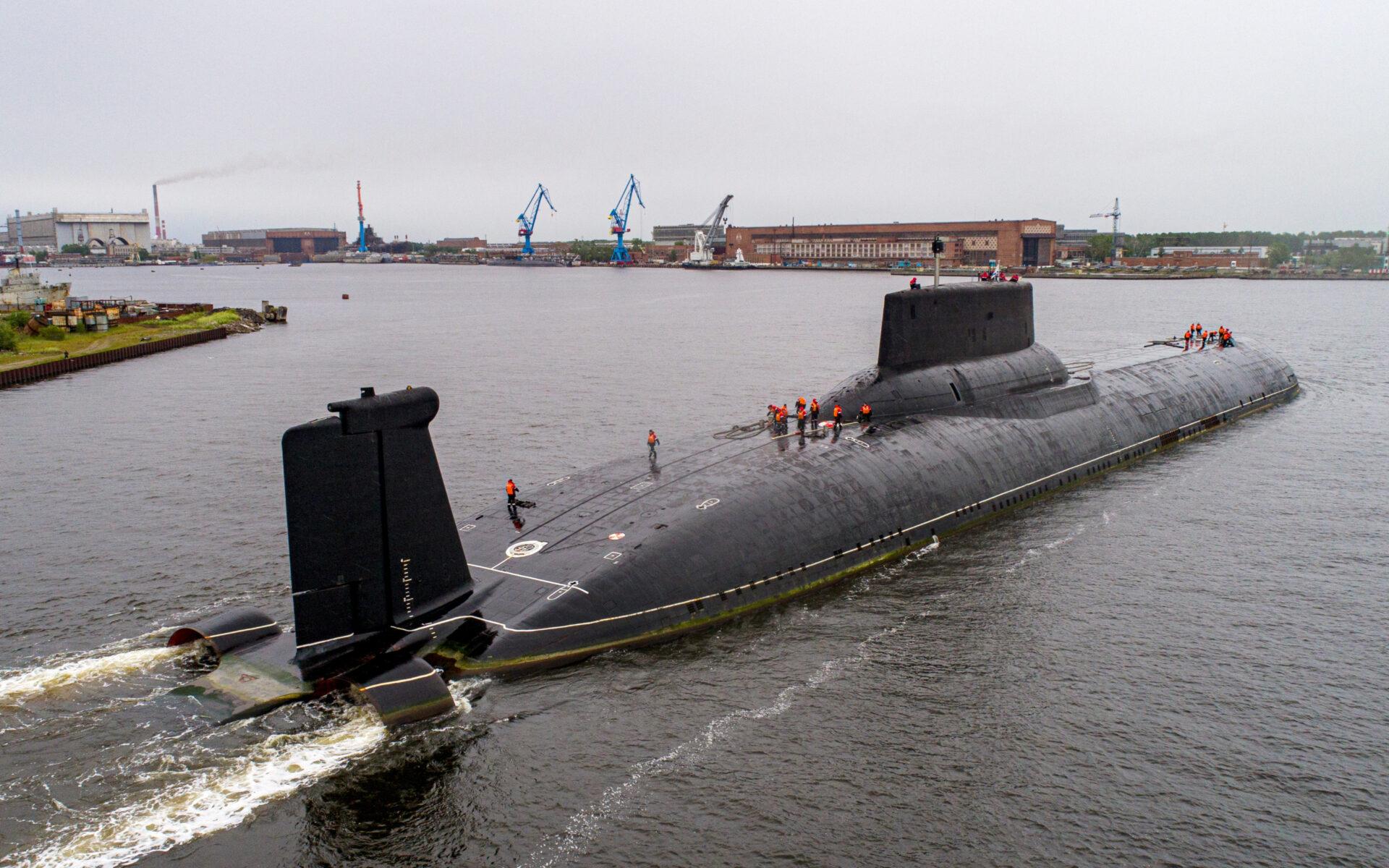 В Пентагоне опасаются российской субмарины «Белгород»