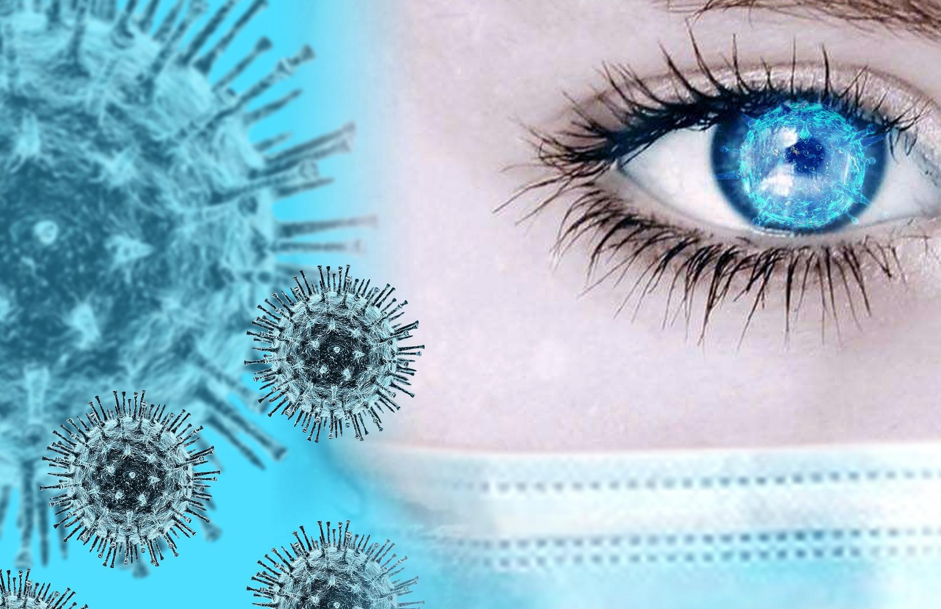 Повреждения глаз нашли у переболевших коронавирусом