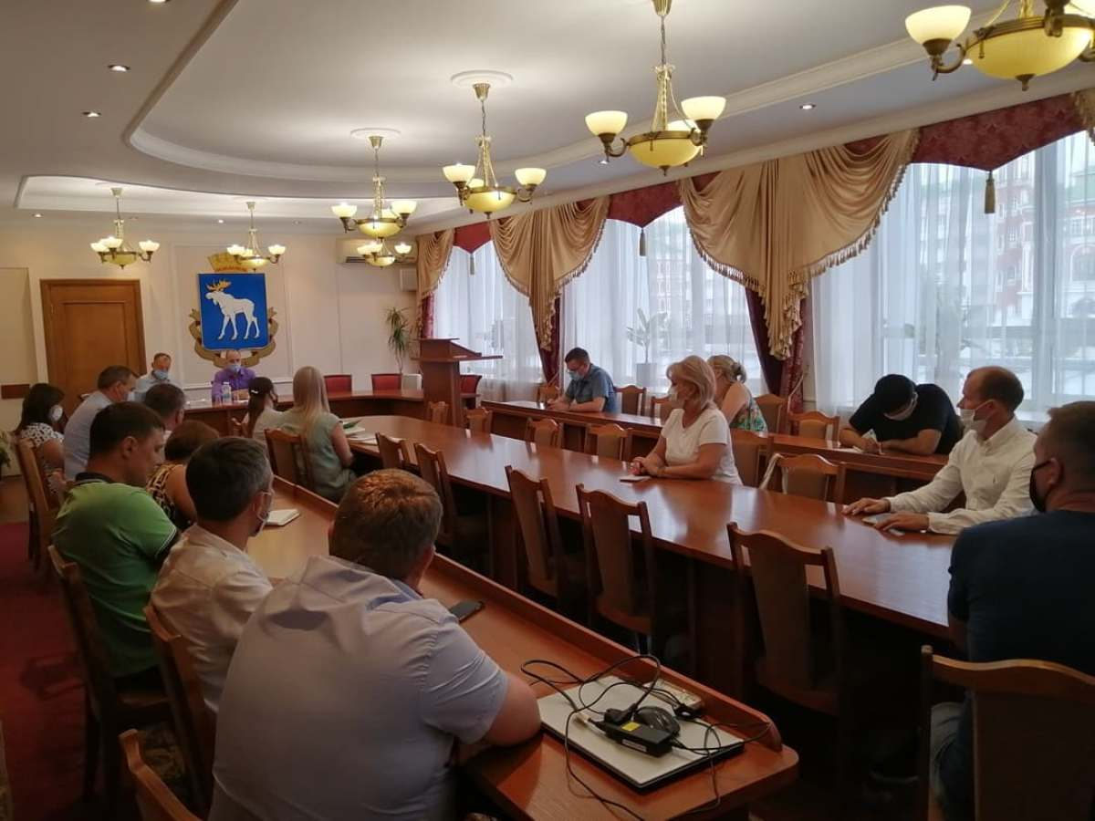 Мэр Йошкар-Олы встретился с бизнесменами