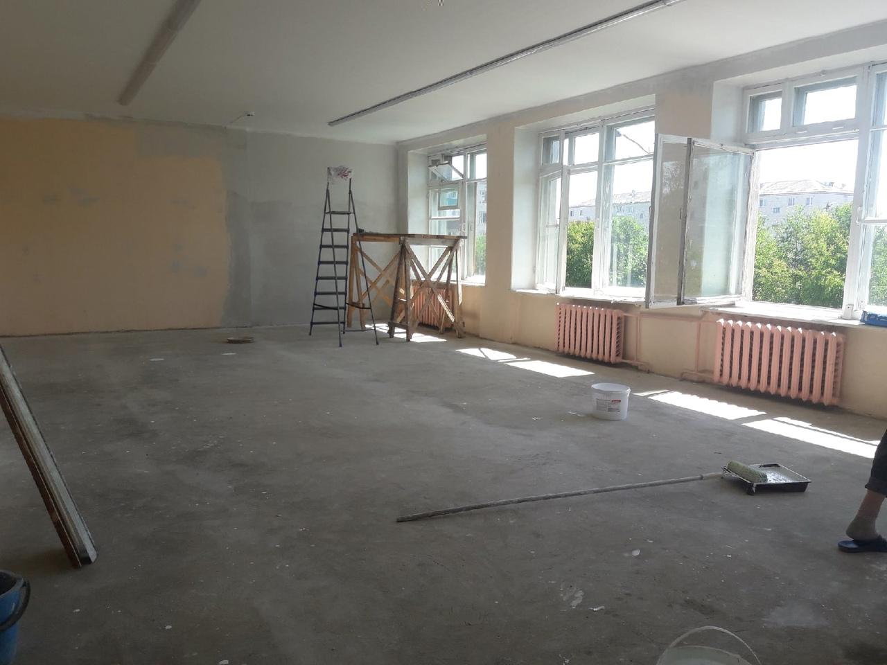В школах Марий Эл идет ремонт помещений для «Точек роста»