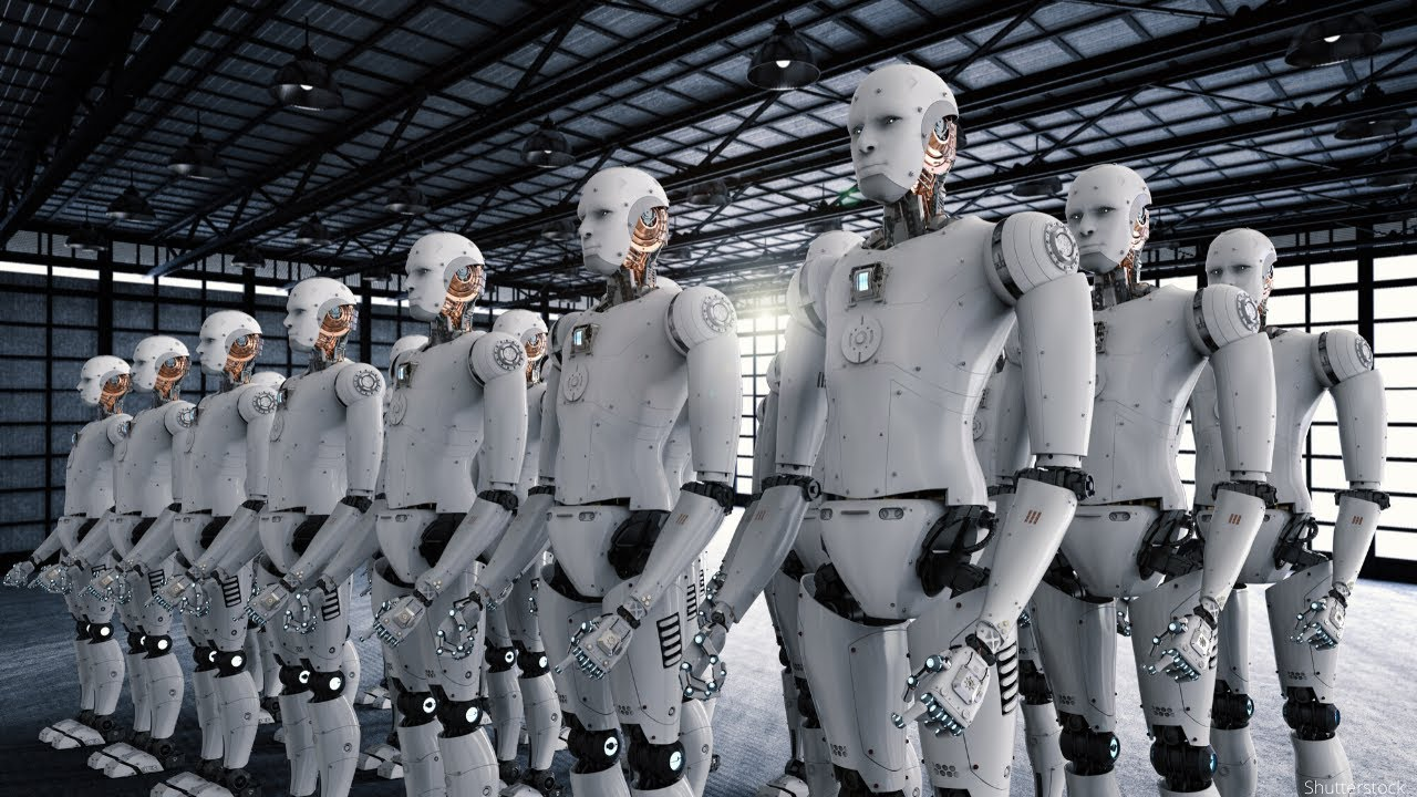 Российскими учеными создан уникальный алгоритм для контроля групп роботов