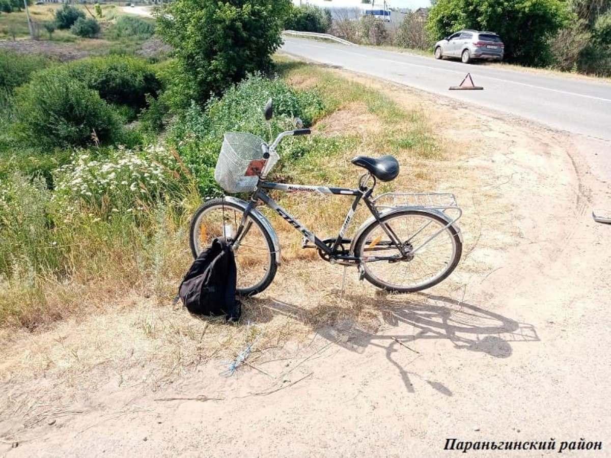 На автодороге в Марий Эл иномарка сбила велосипедиста