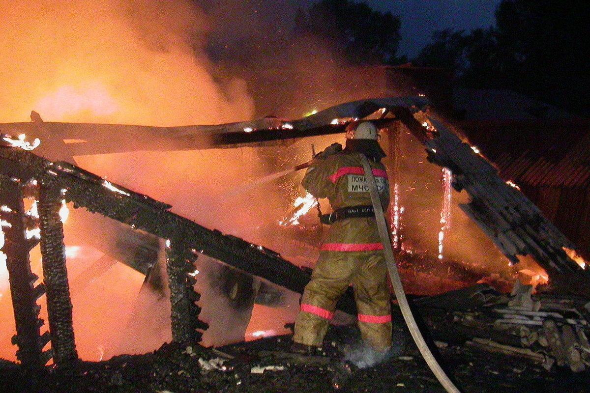 В Марий Эл при пожаре в жилом доме погиб человек