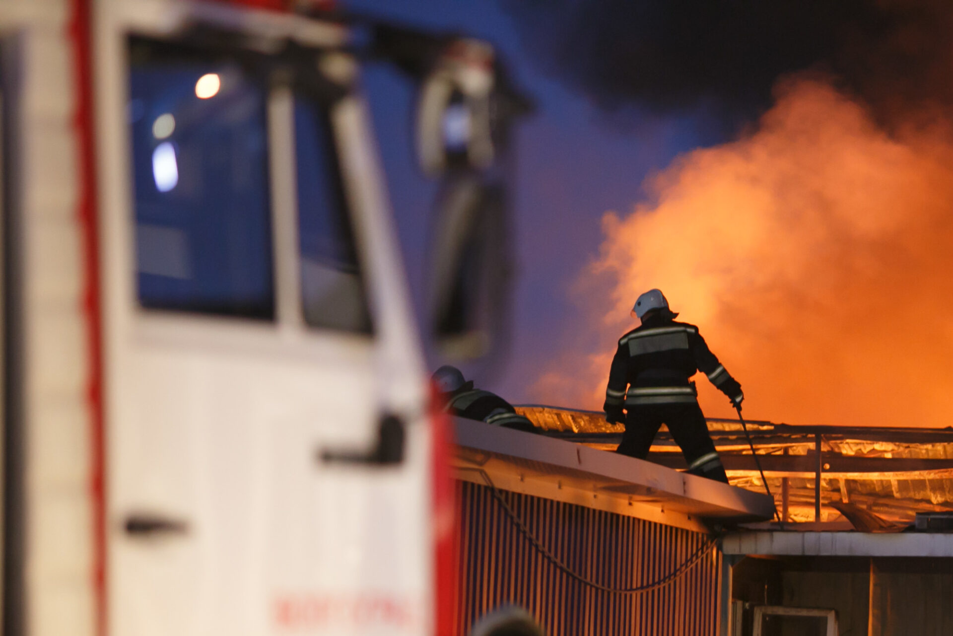 В Марий Эл пожар произошел на ферме по разведению КРС