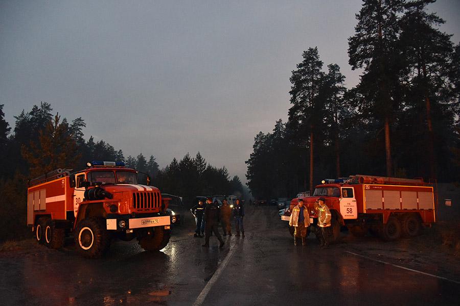 Пожары в Марий Эл: день шестой