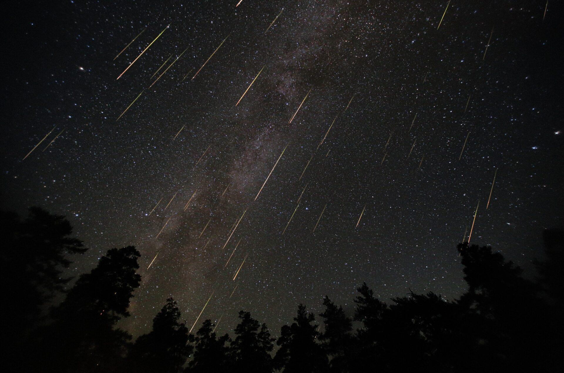 Жителей Йошкар-Олы приглашают посмотреть на метеорный поток Персеиды
