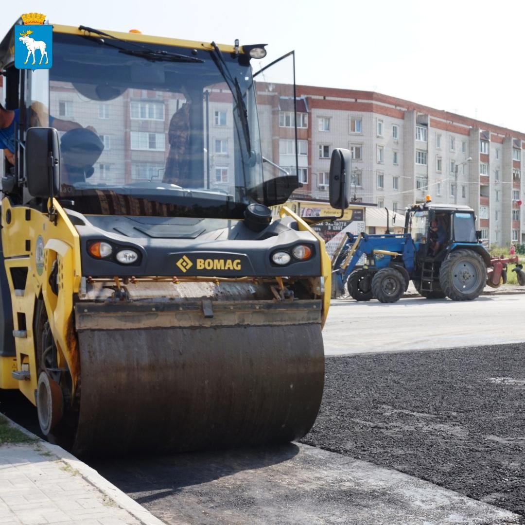 В Йошкар-Оле ремонтируют улицу Ползунова