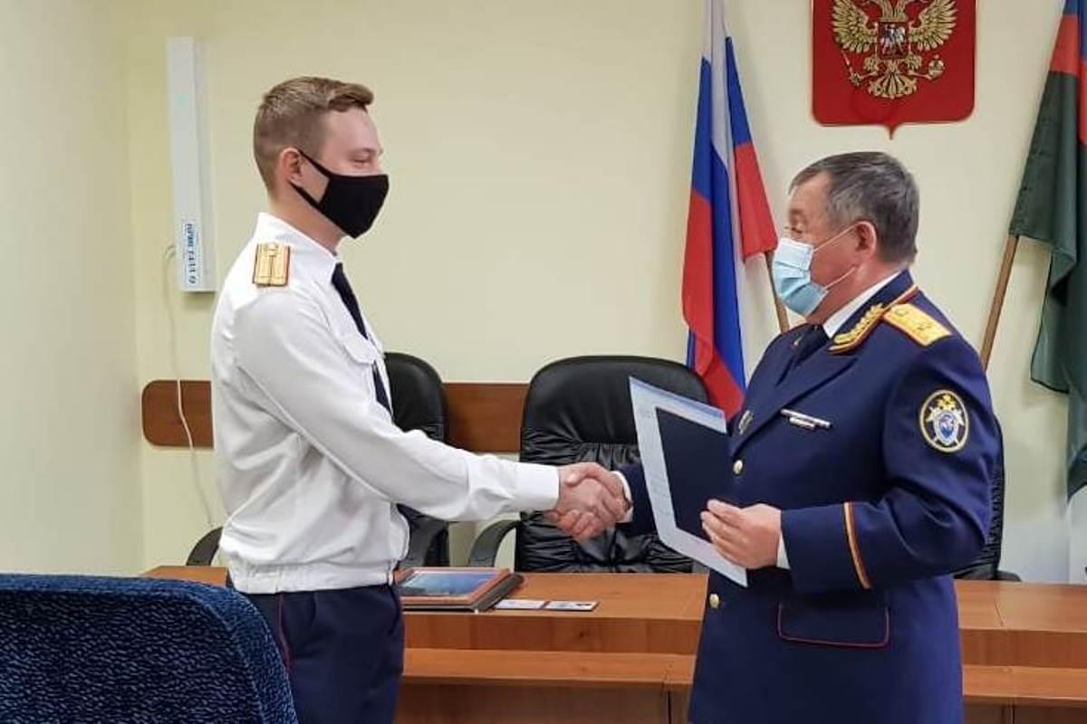 На службу в Следком Марий Эл приняли выпускника Московской академии