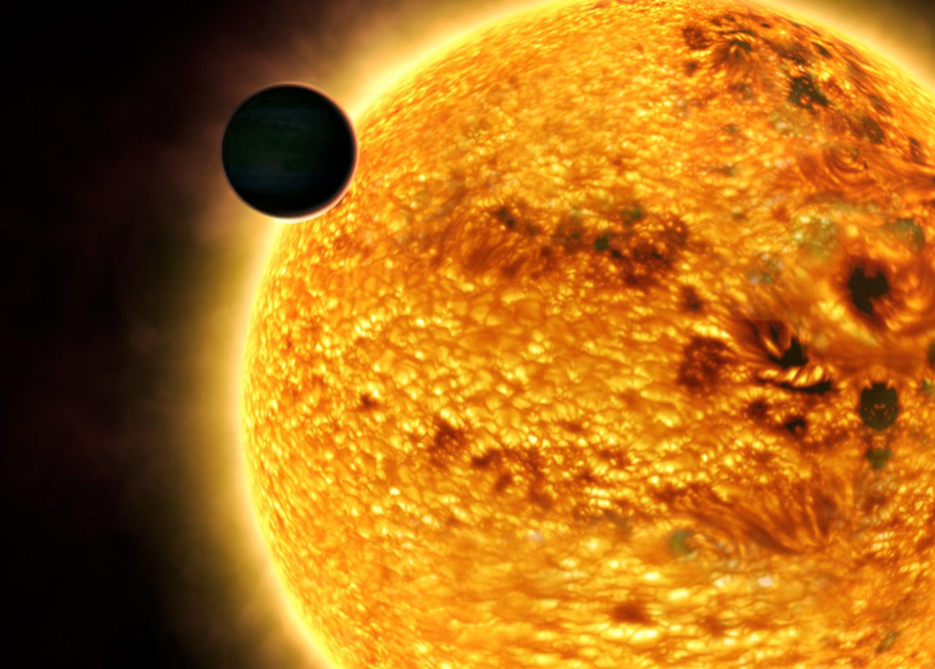 Каждая четвертая подобная солнцу звезда могла поглотить одну из своих планет