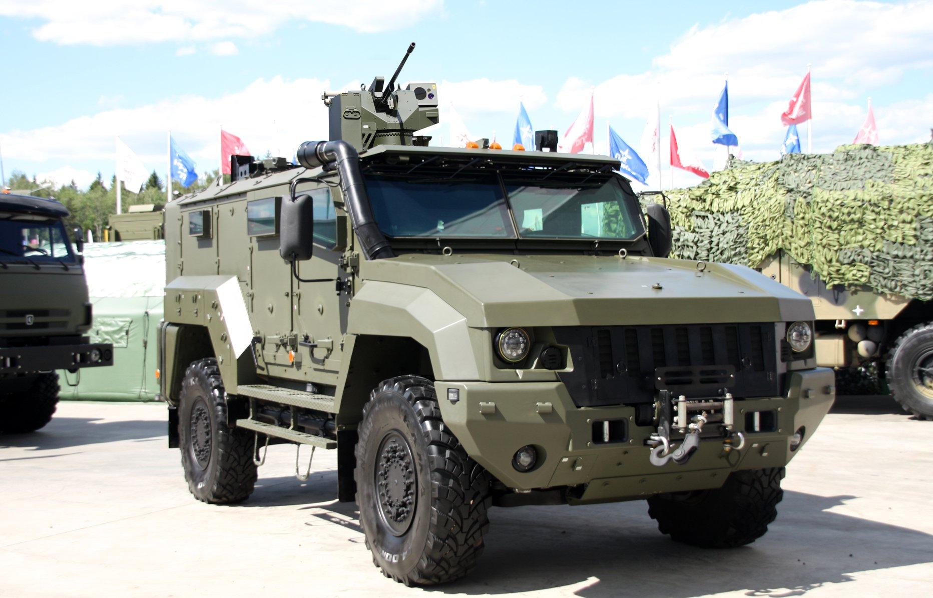 Россия начала серийное производство боевых модулей «Охотник»