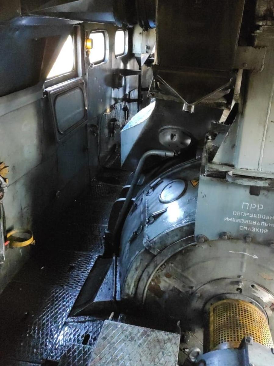 В пригороде Йошкар-Олы горел тепловоз, перевозивший цистерны с горючим