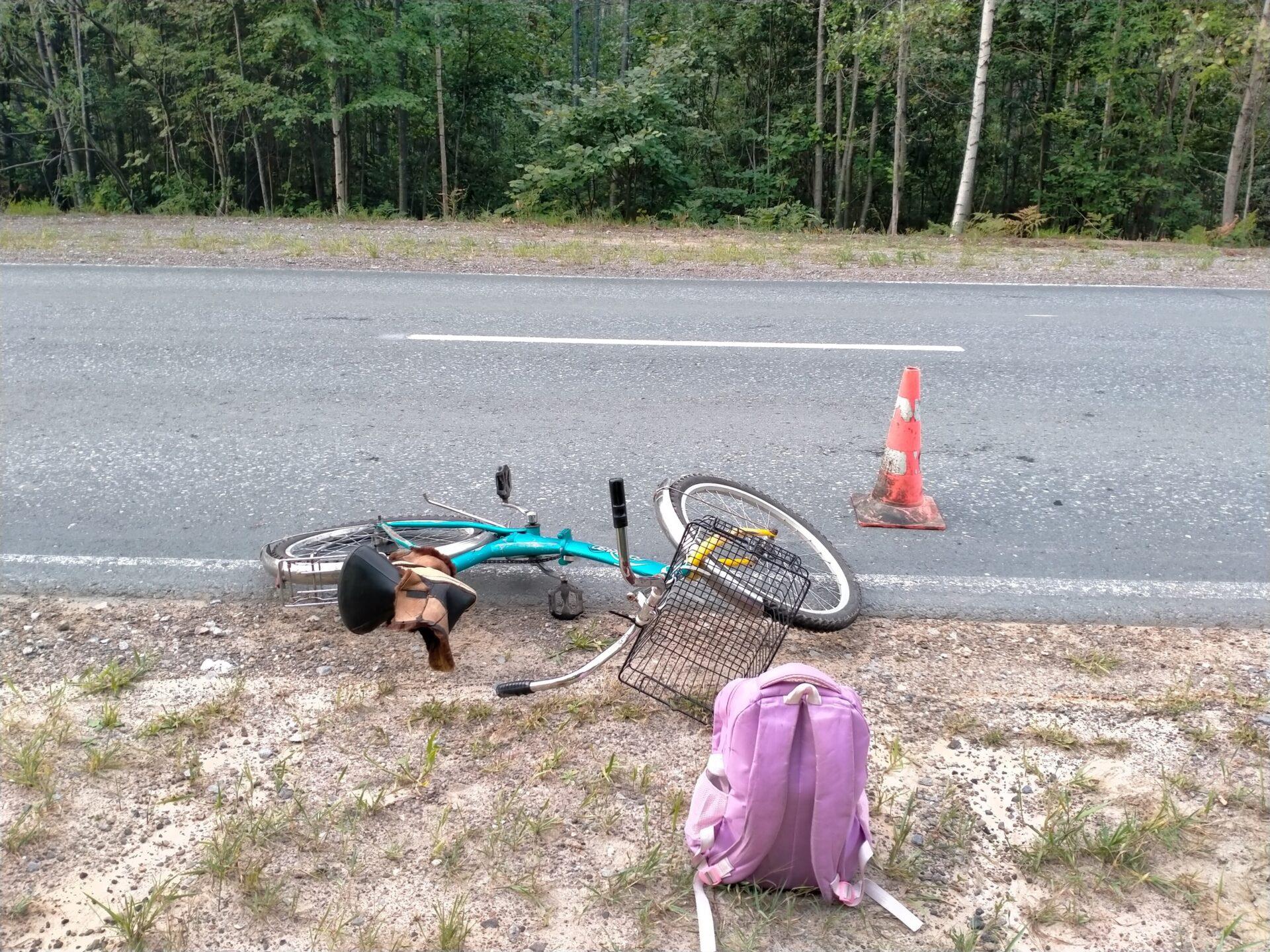 В Марий Эл идет розыск водителя, сбившего утром пожилую велосипедистку