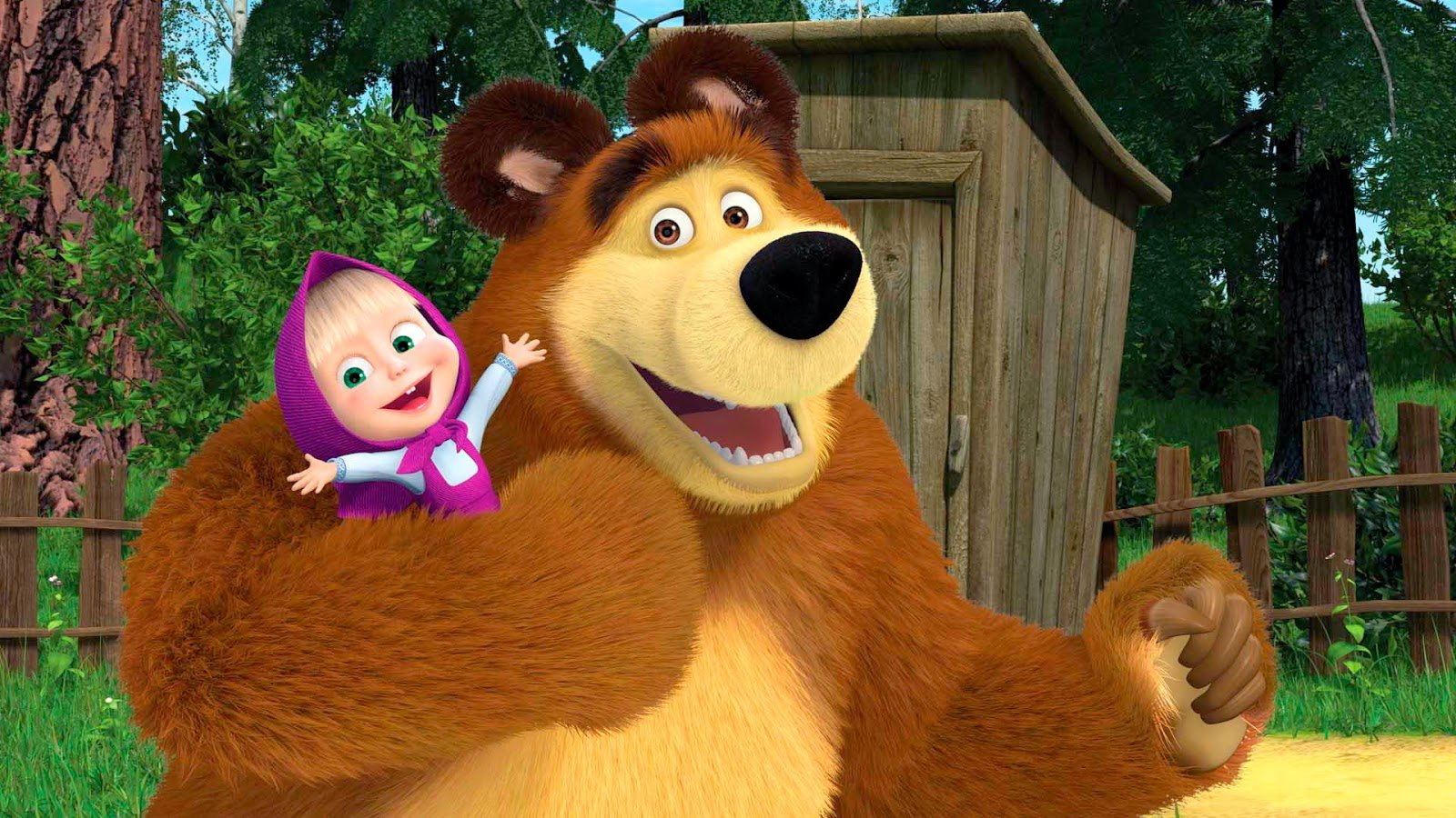 Мультсериал «Маша и медведь» стал наиболее просматриваемым детским шоу в мире