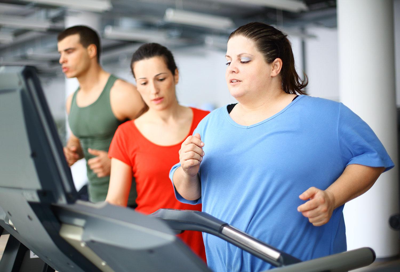 Физические нагрузки при ожирении оказались способны привести к набору веса