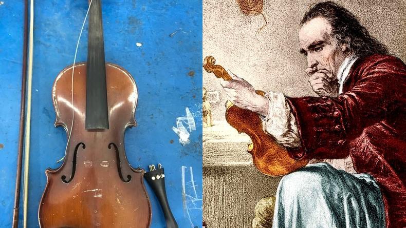 Оригинальное звучание скрипок Страдивари обусловлено старинным химическим покрытием