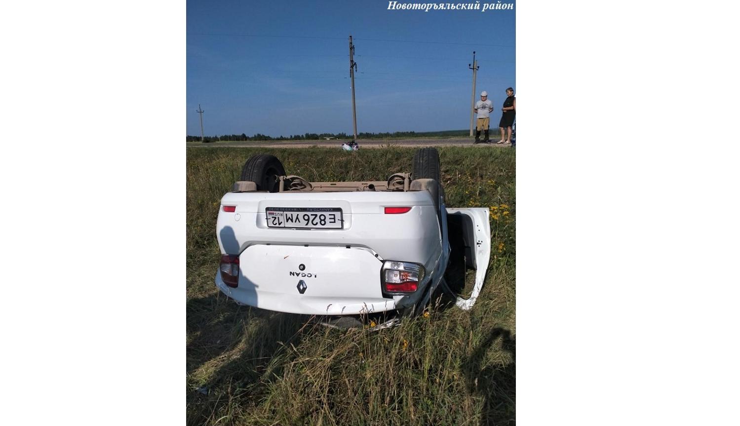 5 женщин пострадали в аварии в Новоторъяльском районе Марий Эл