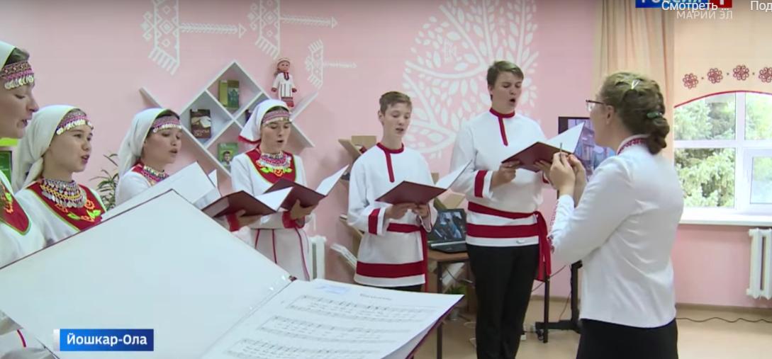 Сборник литургических песнопений на марийском языке представили в Йошкар-Оле