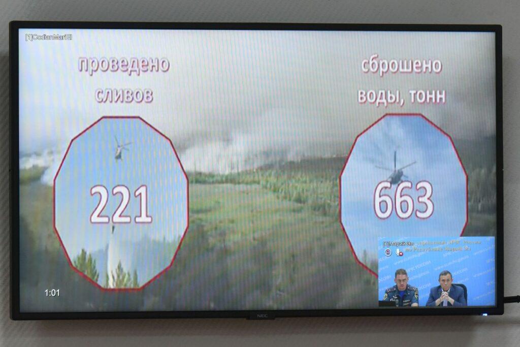 В Марий Эл населенные пункты удалось отстоять от природных пожаров