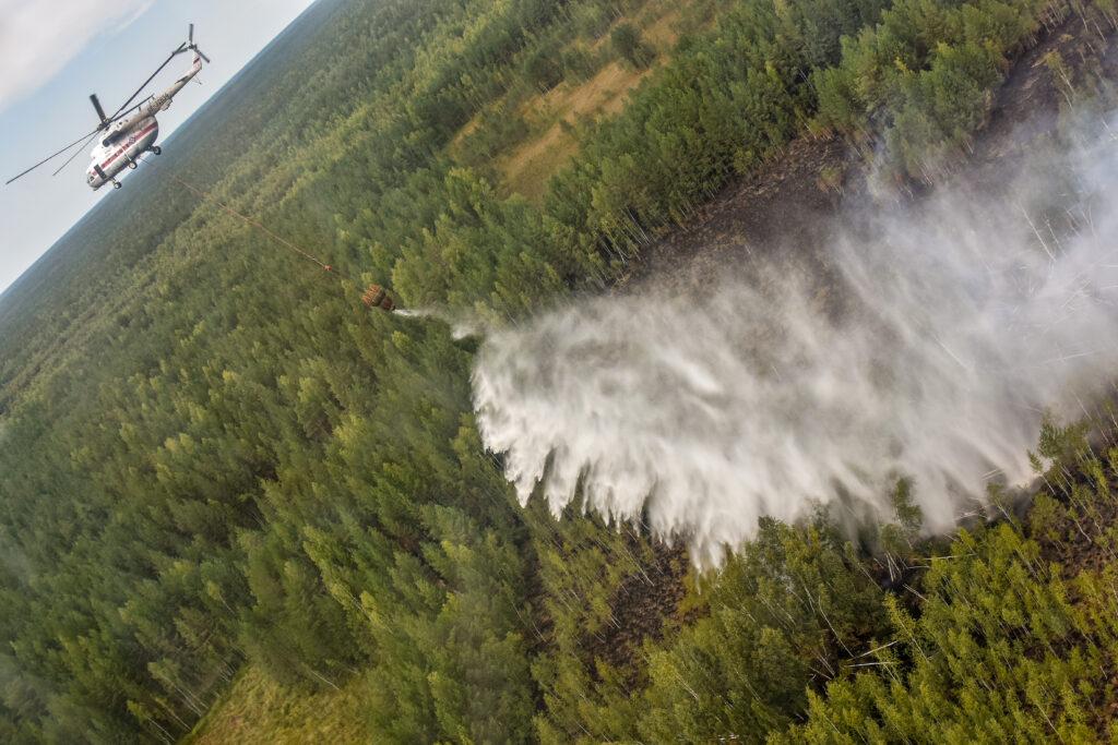 Борьба с пожарами в Марий Эл: день седьмой