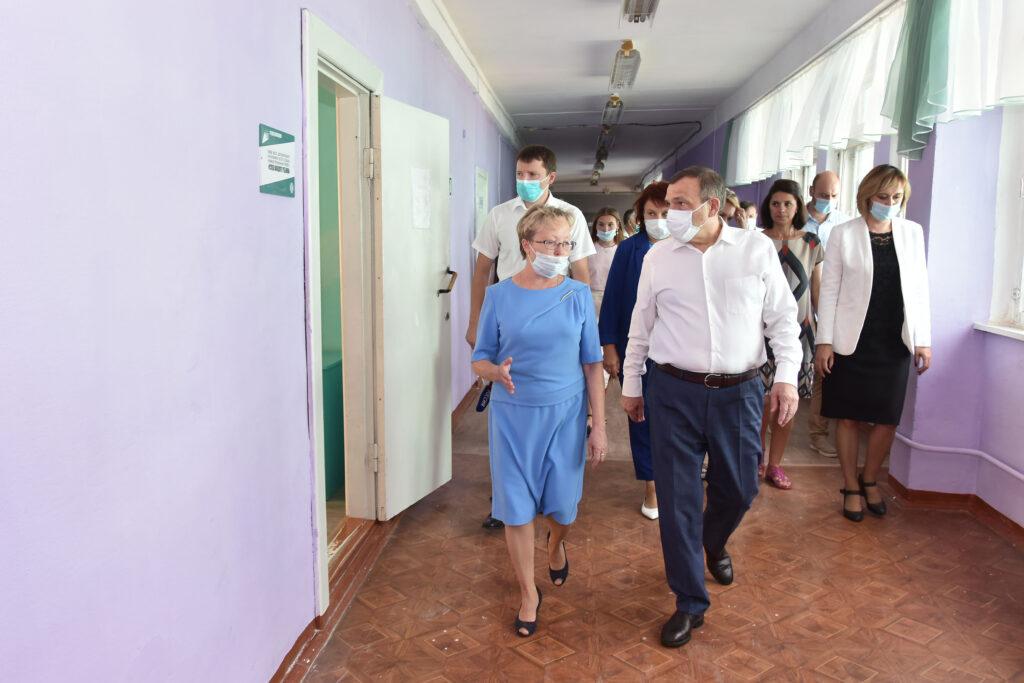 Глава Марий Эл посетил социально-значимые объекты Волжского района