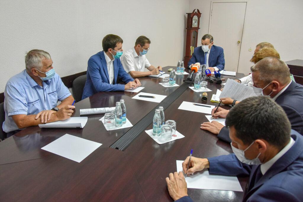 Глава Марий Эл провел совещание по вопросам социально-экономического развития Волжска